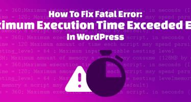 حل خطای زمان اجرا و حجم آپلود php در وردپرس